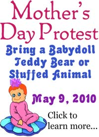 Nationwide Mother's Day Protest!
